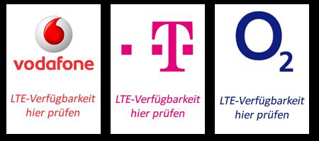 LTE Anbieter - Verfügbarkeit prüfen