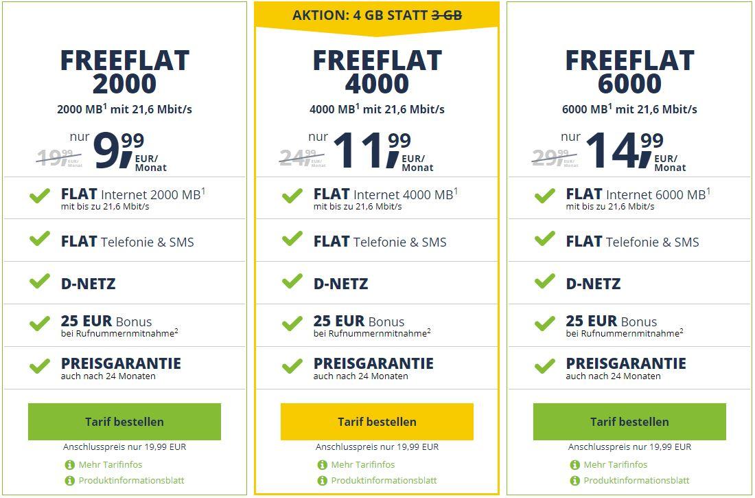 Freenet Freeflat